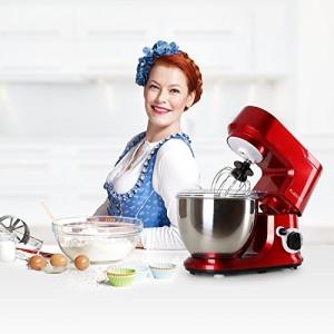 Klarstein Carina Rossa Küchenmaschine Test